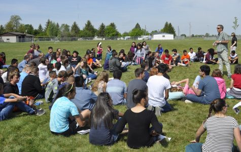 Legacy Club Visits the Middle School for a Second Year