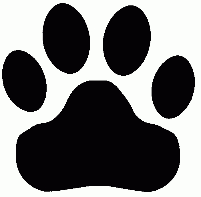 Bobcat+Clipart+Tiger+Paw+-+Pencil+And+In+Color+Bobcat+Clipart+regarding+Tiger+Paw+Clipart+Black+And+White+-+Letters