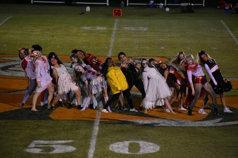 "JHS Tigerettes: ""Thrilling"" The Audience"